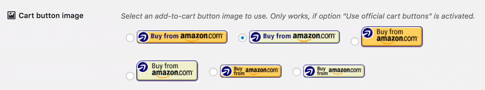 Select add-to-cart button image